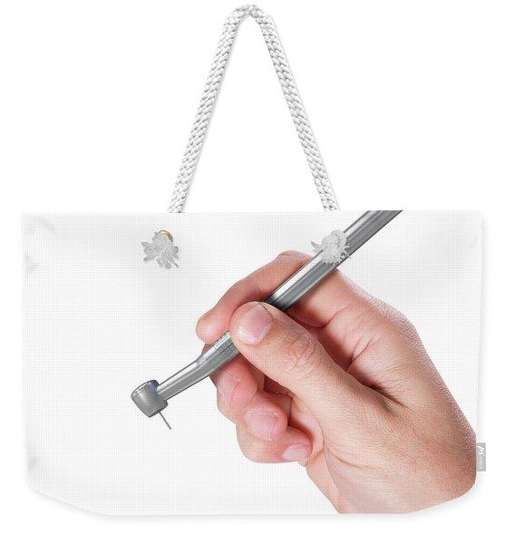 Hand And Dentist Tool Weekender Tote Bag