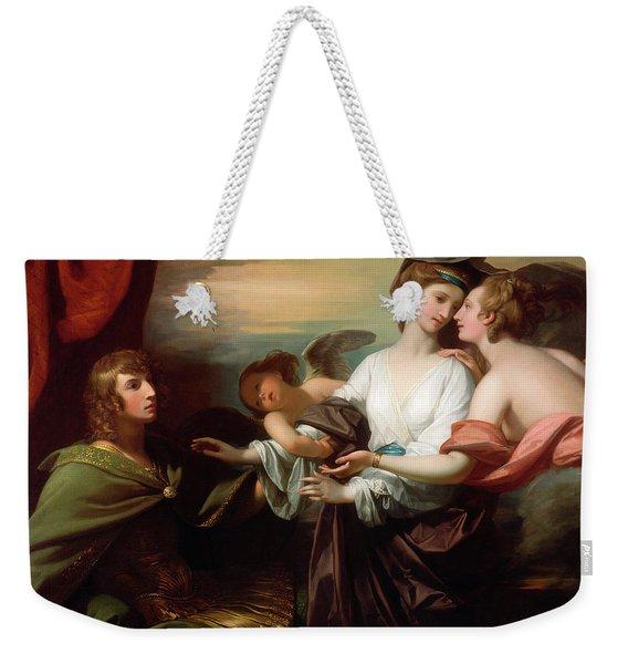 Helen Brought To Paris Weekender Tote Bag