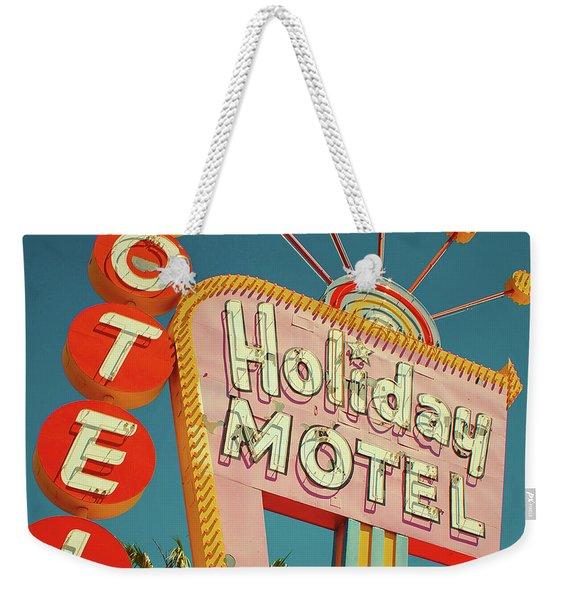Holiday Motel, Las Vegas Weekender Tote Bag