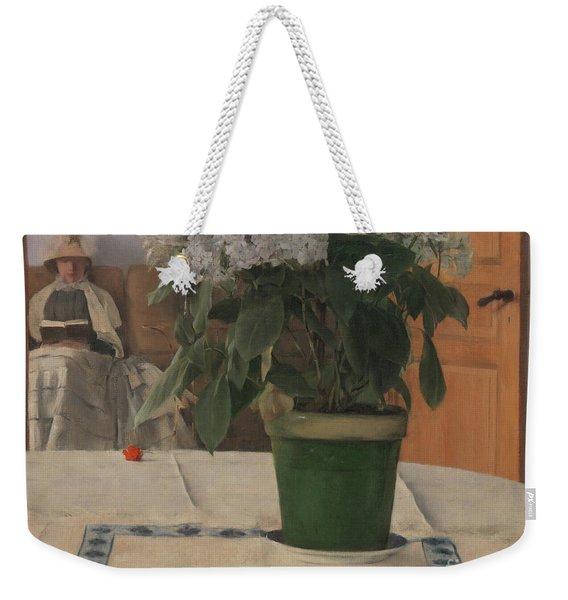 Hortensia Weekender Tote Bag