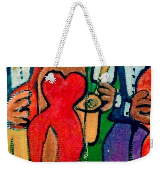 Hot Jazz5 Weekender Tote Bag