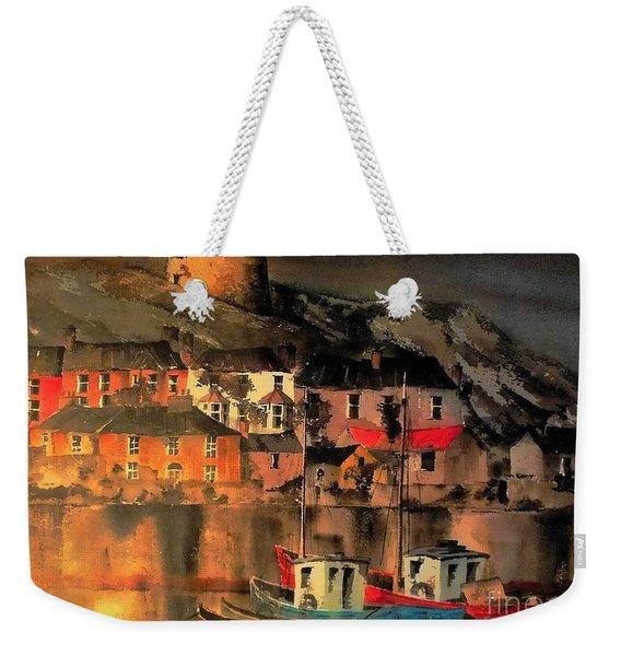Howth Sunset Dublin Weekender Tote Bag