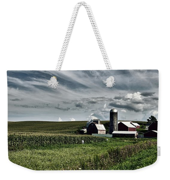 Iowa Farmstead Weekender Tote Bag