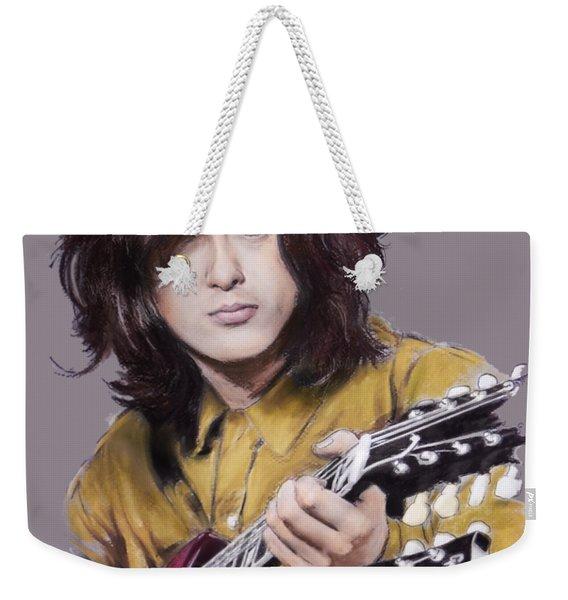 Jimmy Page 1 Weekender Tote Bag