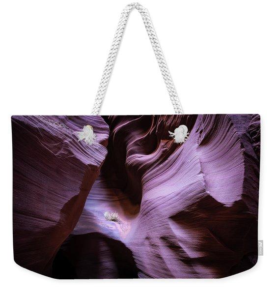 Just The Light Weekender Tote Bag