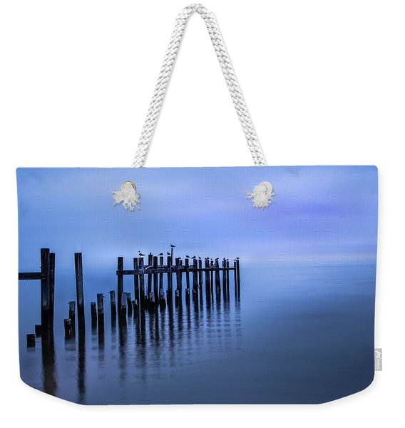 Colorful Overcast At Twilight Weekender Tote Bag