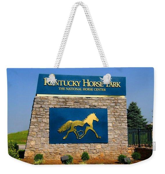 Kentucky Horse Park Weekender Tote Bag