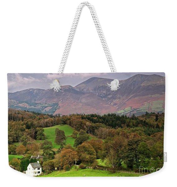 Lake District Landscape Weekender Tote Bag