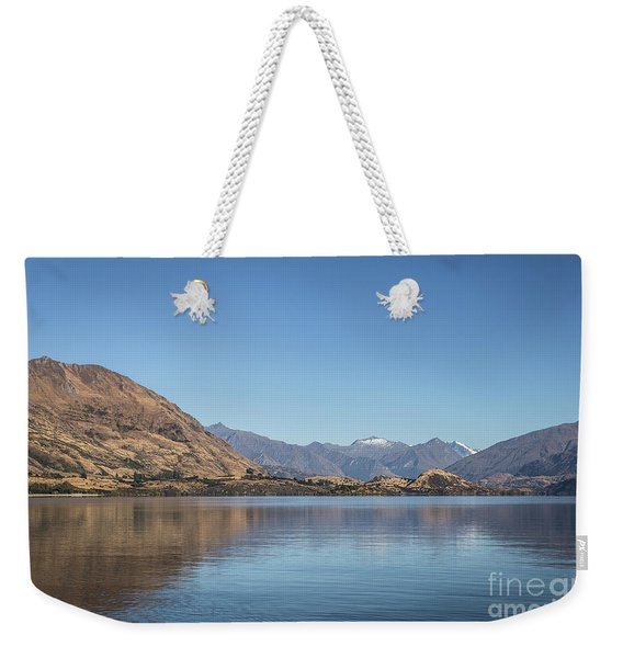 Lake Wanaka In New Zealand Weekender Tote Bag