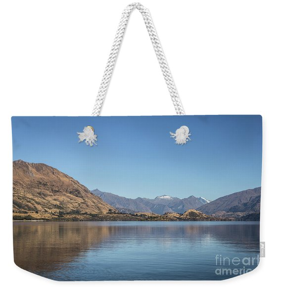 Lake Wanaka In New Zealand Weekender Tote Bag