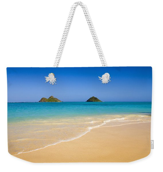 Lanikai, Mokulua Islands Weekender Tote Bag