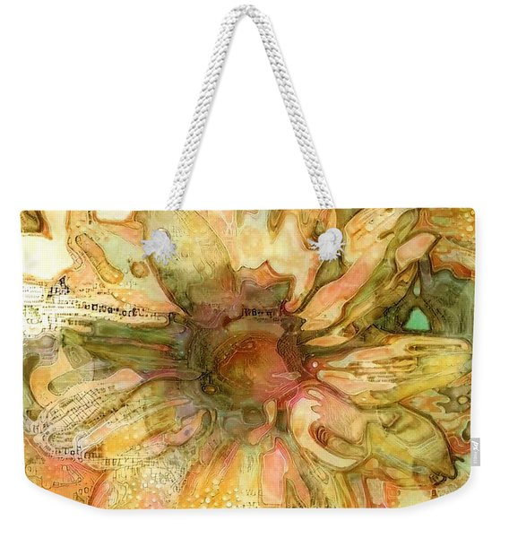 Lazy Daisy Weekender Tote Bag
