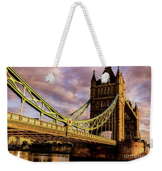 London Tower Bridge. Weekender Tote Bag