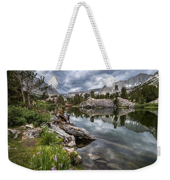 Long Lake Weekender Tote Bag