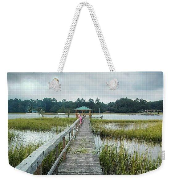 Lowcountry Dock Weekender Tote Bag