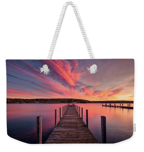 Meredith Bay Weekender Tote Bag