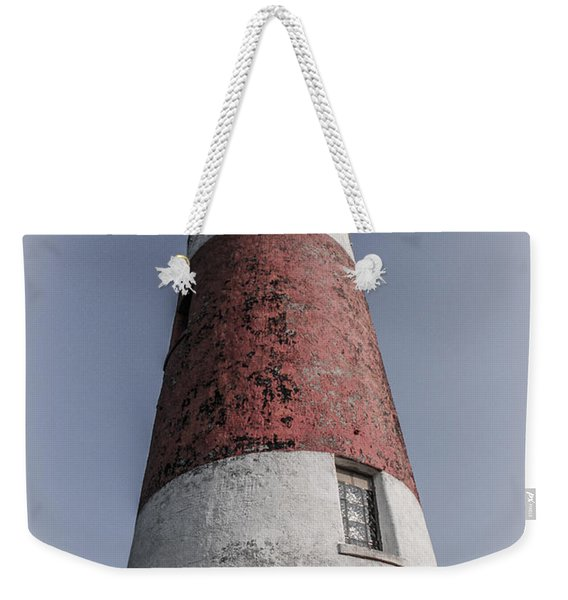 Middle Island Lighthouse Weekender Tote Bag