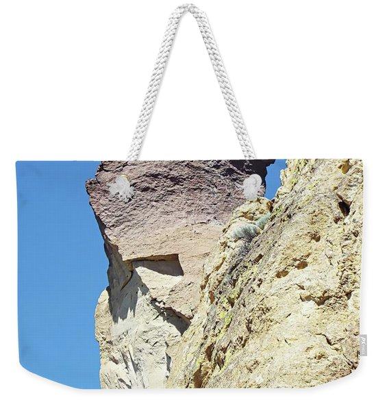 Monkey Face Rock - Smith Rock National Park Weekender Tote Bag