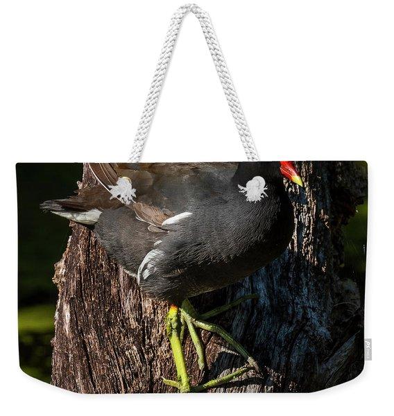 Moorhen Weekender Tote Bag