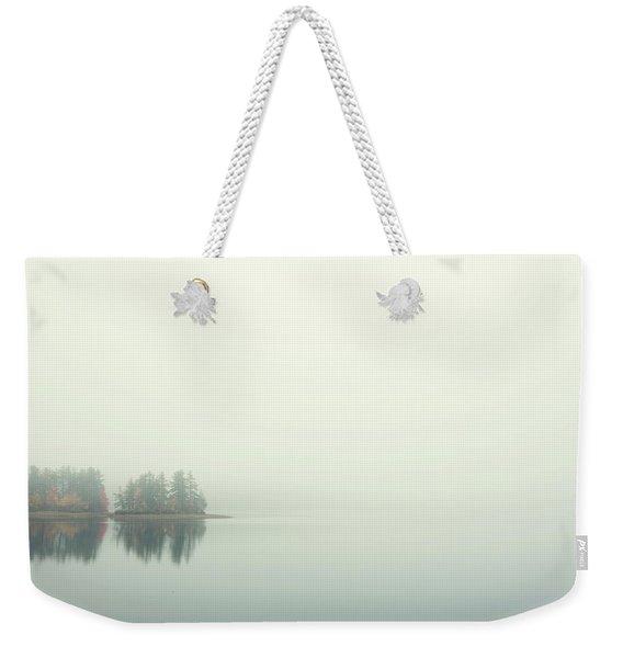 Morning Fog Weekender Tote Bag