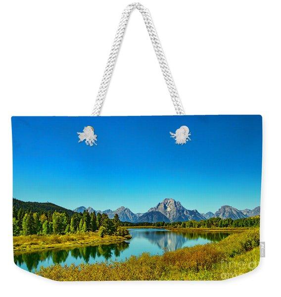 Mount Moran Weekender Tote Bag