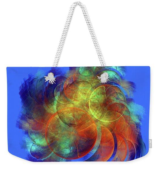 Multicolored Abstract Figures Weekender Tote Bag