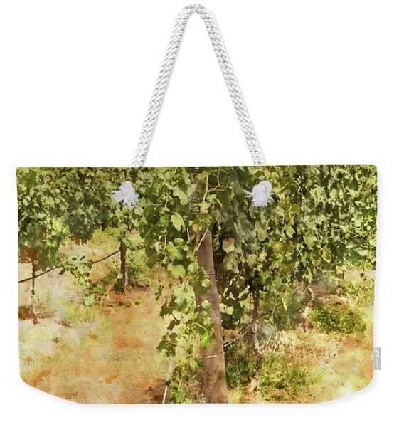Napa Vineyard In The Spring Weekender Tote Bag