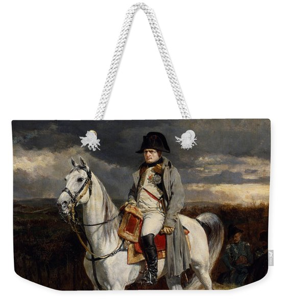 Napoleon Bonaparte On Horseback Weekender Tote Bag