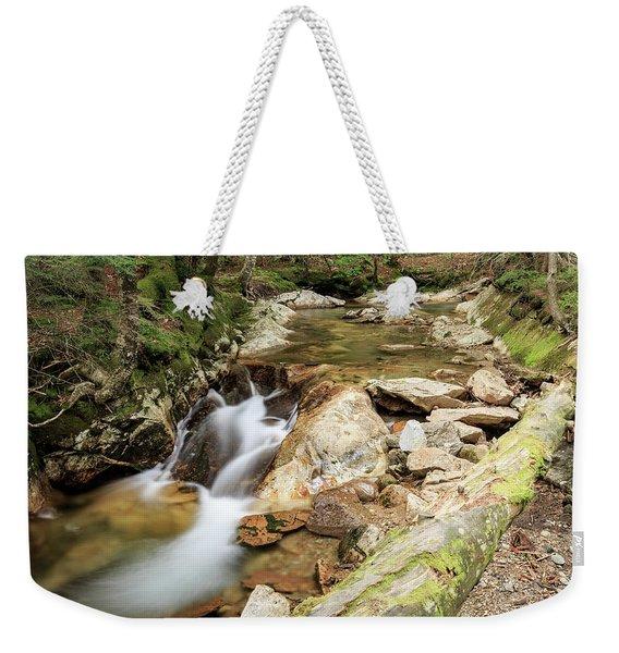 New England Waterfall Weekender Tote Bag