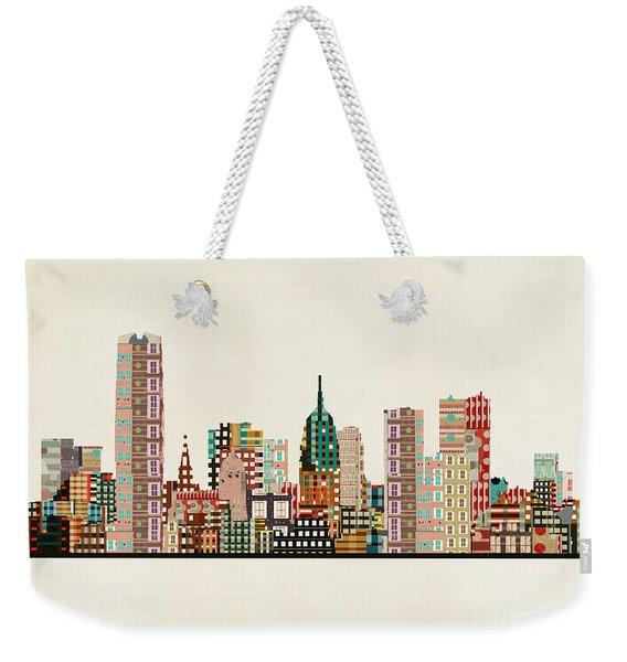 Oklahoma City Skyline Weekender Tote Bag