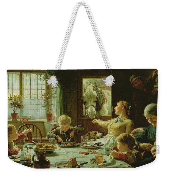 One Of The Family Weekender Tote Bag
