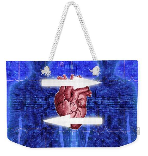 Organ Donation Weekender Tote Bag