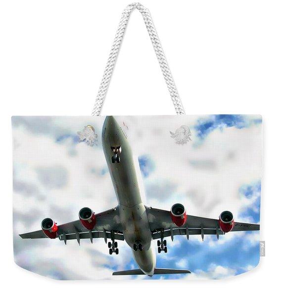 Passenger Plane Weekender Tote Bag