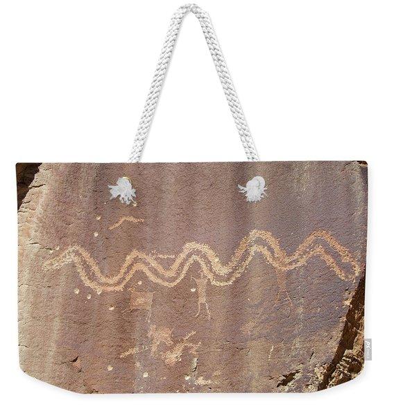 Petroglyph - Fremont Indian Weekender Tote Bag