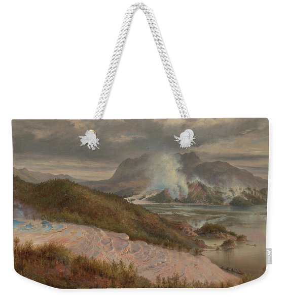 Pink Terraces Weekender Tote Bag