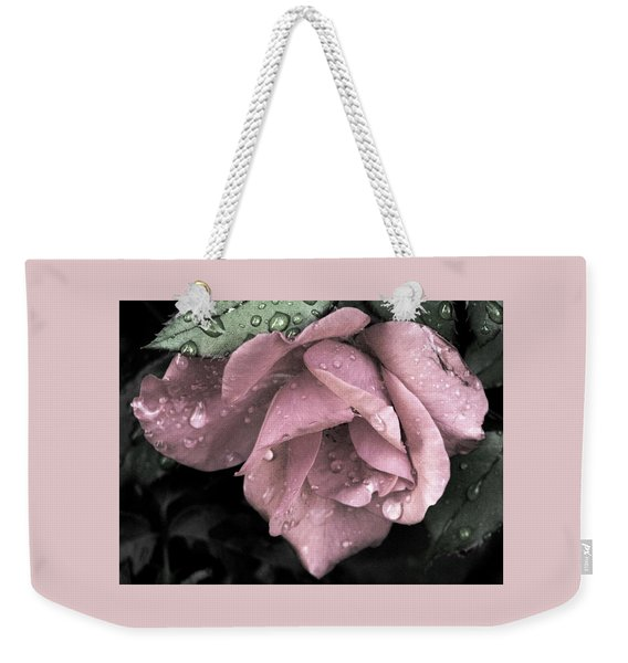 Raindrops On Roses Weekender Tote Bag
