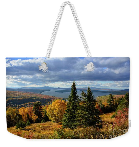 Rangeley Overlook Weekender Tote Bag
