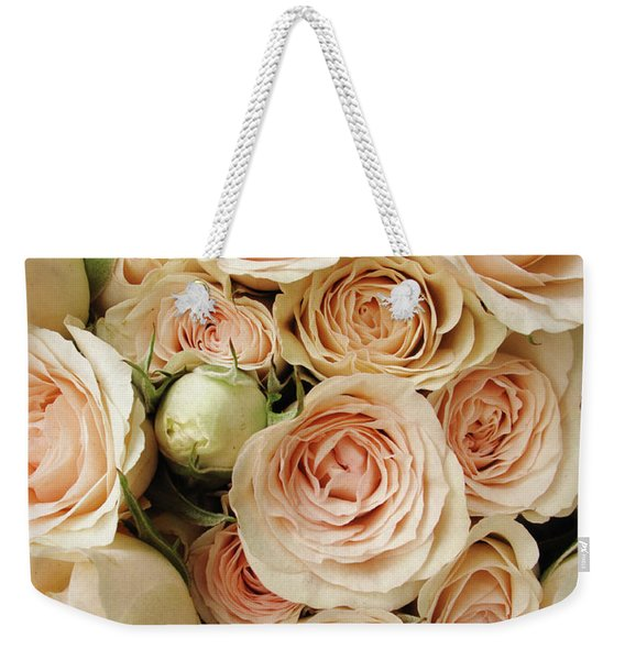 Rose Blush Weekender Tote Bag
