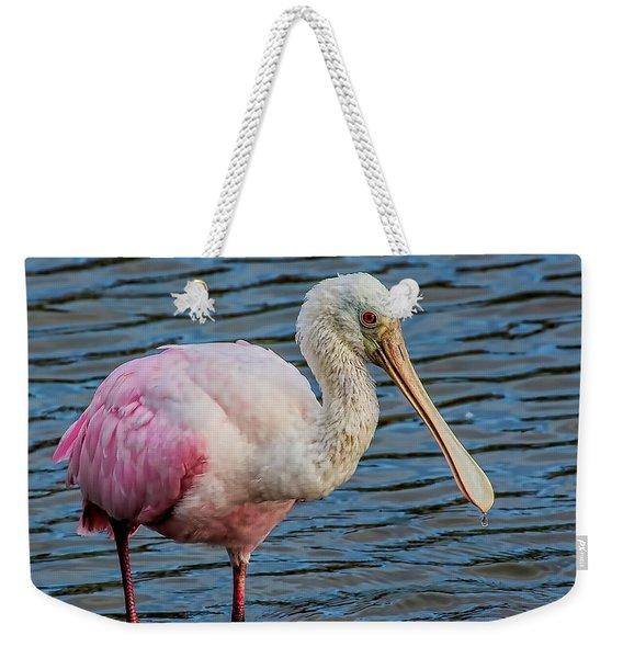 Roseate Spoonbill 1 Weekender Tote Bag