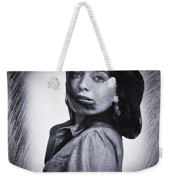 Selfportrait  Weekender Tote Bag