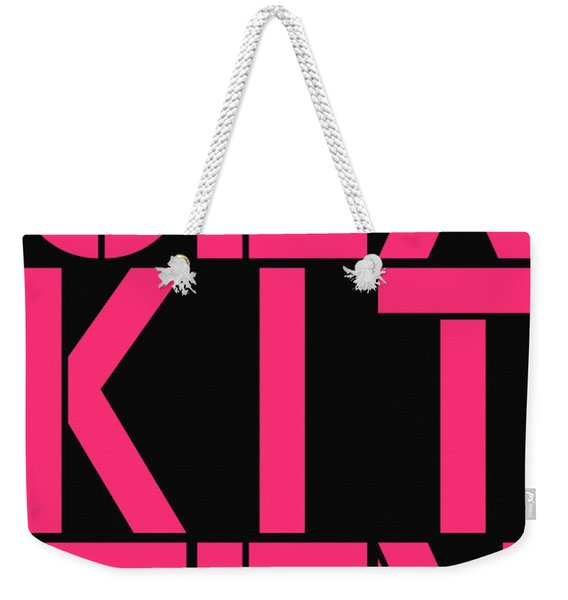 Sex Kitten Weekender Tote Bag