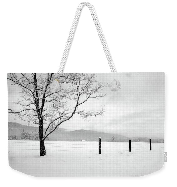 Weekender Tote Bag featuring the photograph Solitude by Wayne King