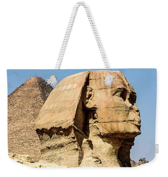 Sphinx - Cairo Egypt Weekender Tote Bag