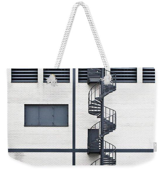 Spiral Stairs Weekender Tote Bag
