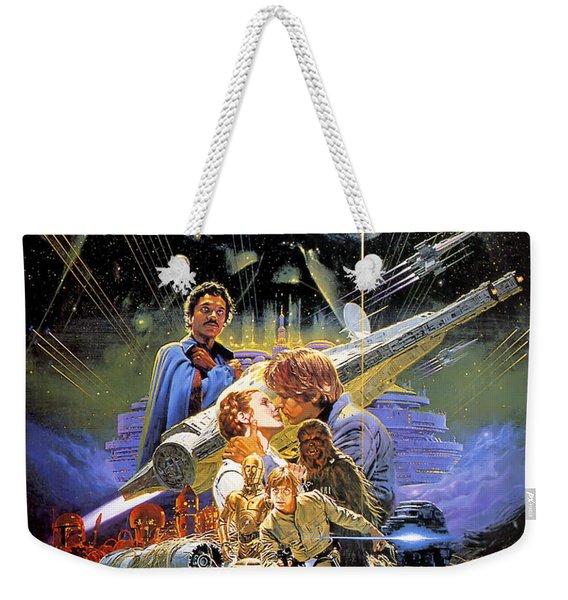 Star Wars Episode V - The Empire Strikes Back 1980 Weekender Tote Bag