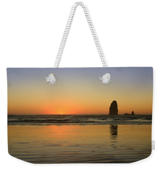 Sunset At Cannon Beach 2 Weekender Tote Bag