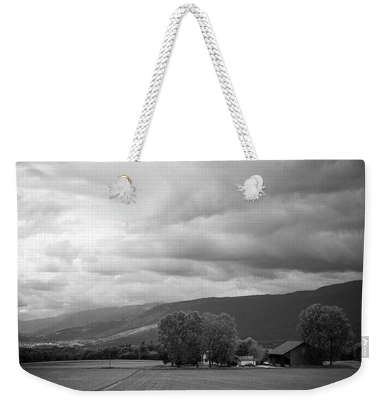 Swiss Countryside Weekender Tote Bag