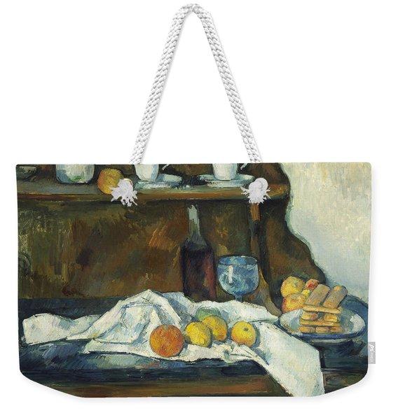 The Buffet Weekender Tote Bag
