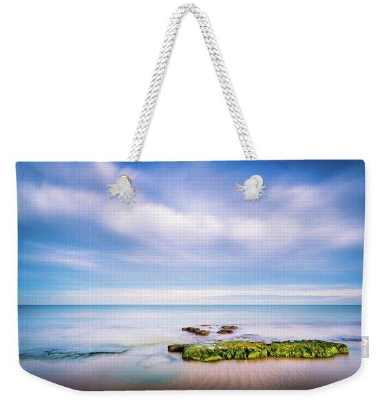 The Calm Sea. Weekender Tote Bag