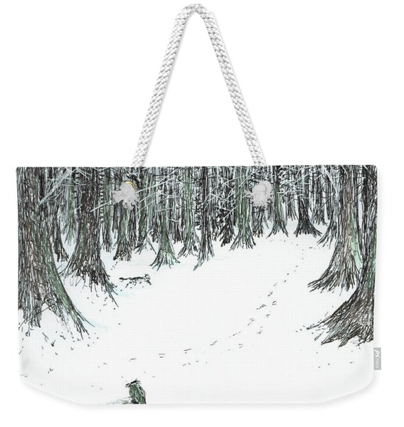 The Castle In The Forest Of Findhorn Weekender Tote Bag